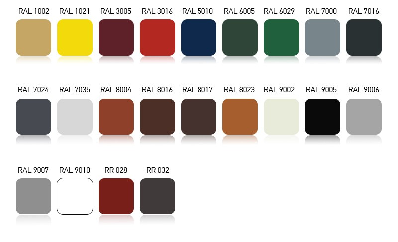 ral colors 25